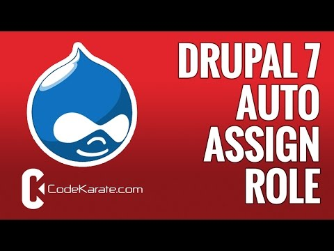 Drupal Auto Assign Role Module: Control your Drupal roles