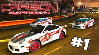 Gallaxi Plays | Need For Speed: Carbon Own the City #1 - A NEW SERIES!