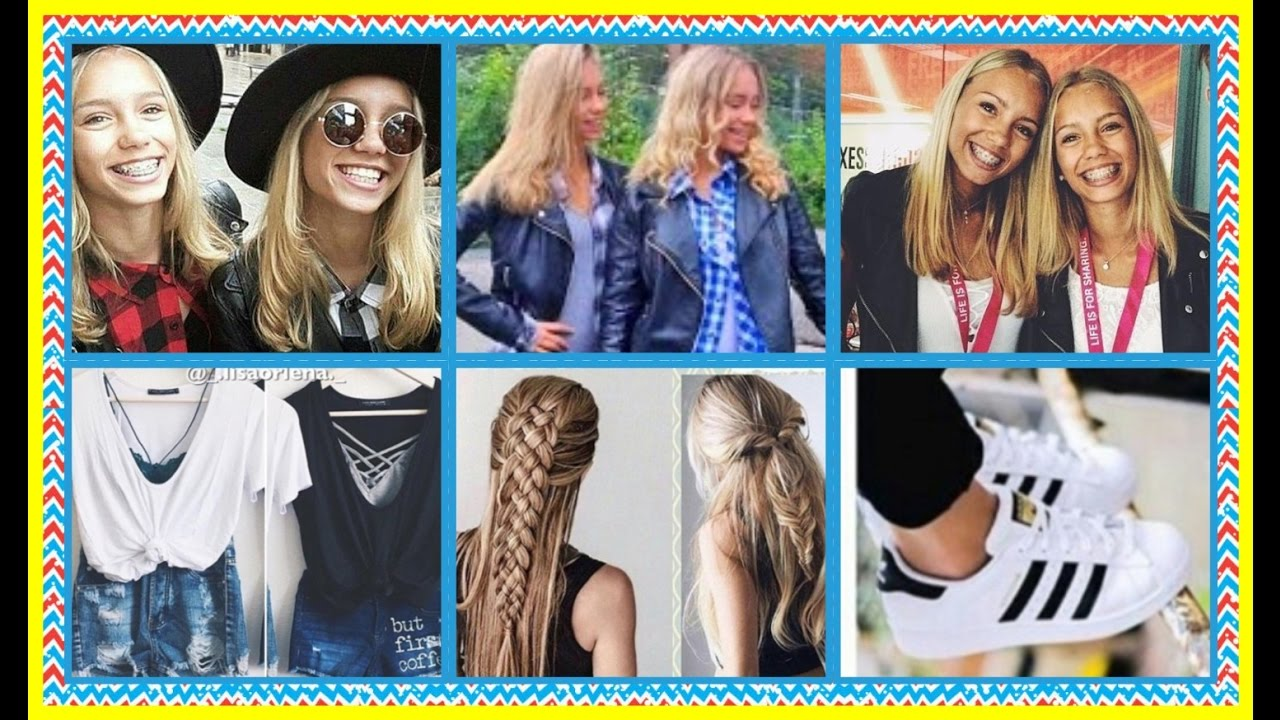 Hair Style Jeans: Lisa And Lena Clothing Style Hair Shoes
