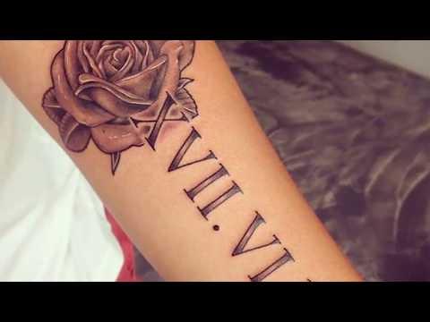 Los Mejores Tatuajes De Numeros Romanos Y Su Significado Youtube