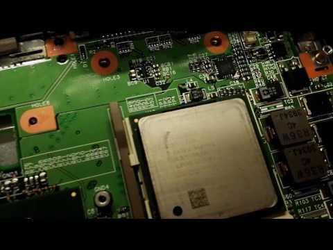 Dumpster find Pentium 4 (socket 478) Laptop Acer Travelmate 240 restoration part 1