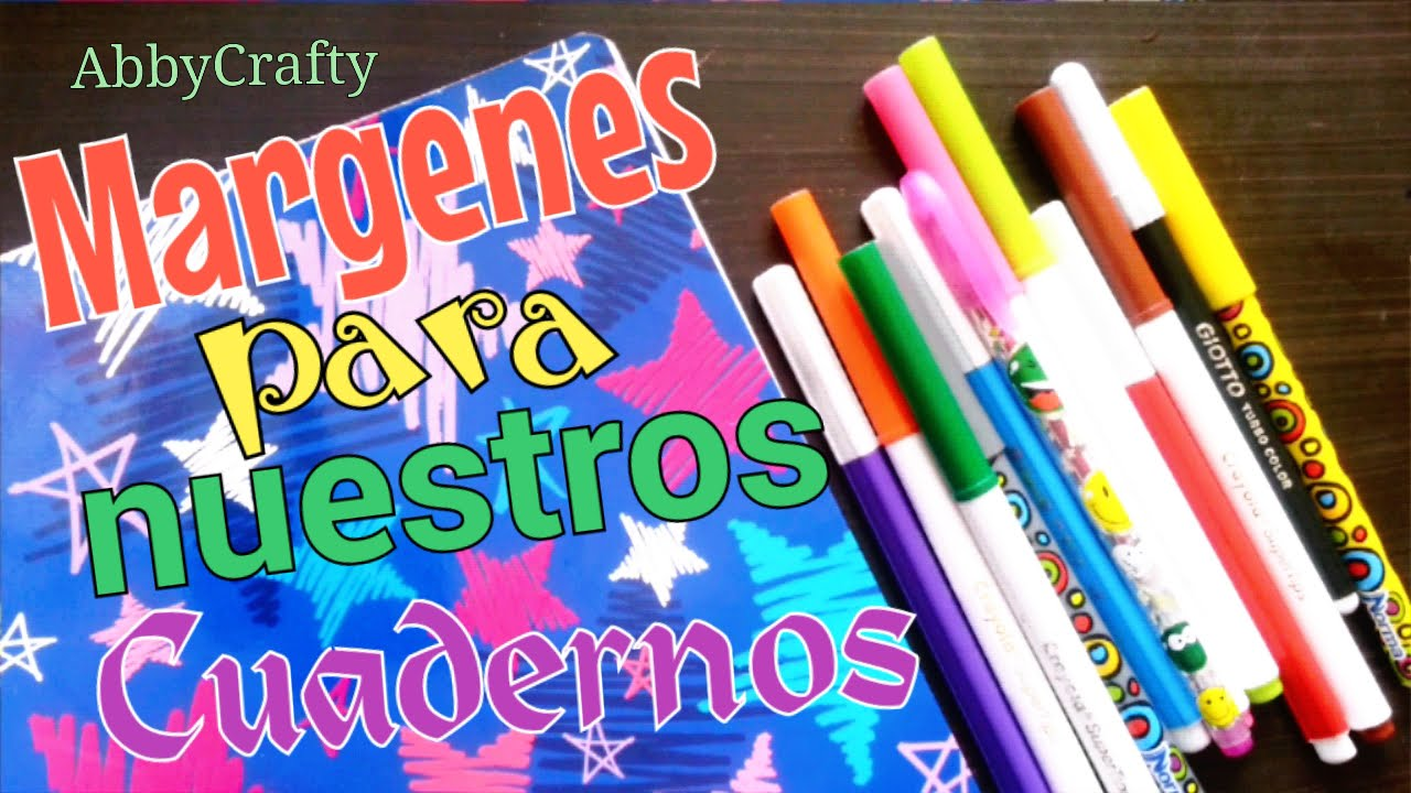 Ideas De MÁrgenes Para Decorar Cuadernos Y Libretas: Ideas Para Decorar Cuadernos Cuadernos T