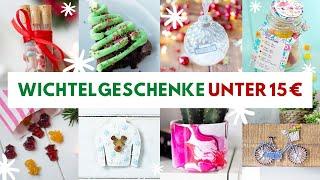 10 Wichtelgeschenke (Food und DIY) für unter 15 €! Kleine Aufmerksamkeiten für die Weihnachtszeit