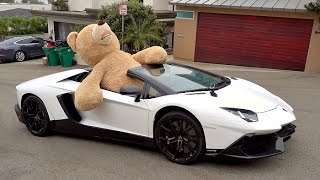 I PUT A HUGE BEAR IN THE LAMBO AND DROVE AROUND