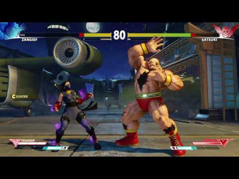 STREET FIGHTER V Satsuki