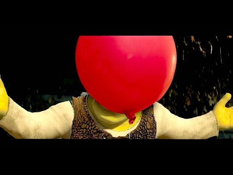 IT (2017) BUT WITH SHREK
