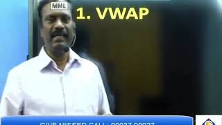 Equity Cash : Intraday VWAP trading strategy  17th March Tamil