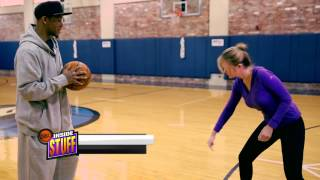 Monta Ellis Talks About His Quick First Step on NBA Inside Stuff