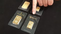 Fake vs Real PERTH MINT Gold Bars - How To Spot The Difference!