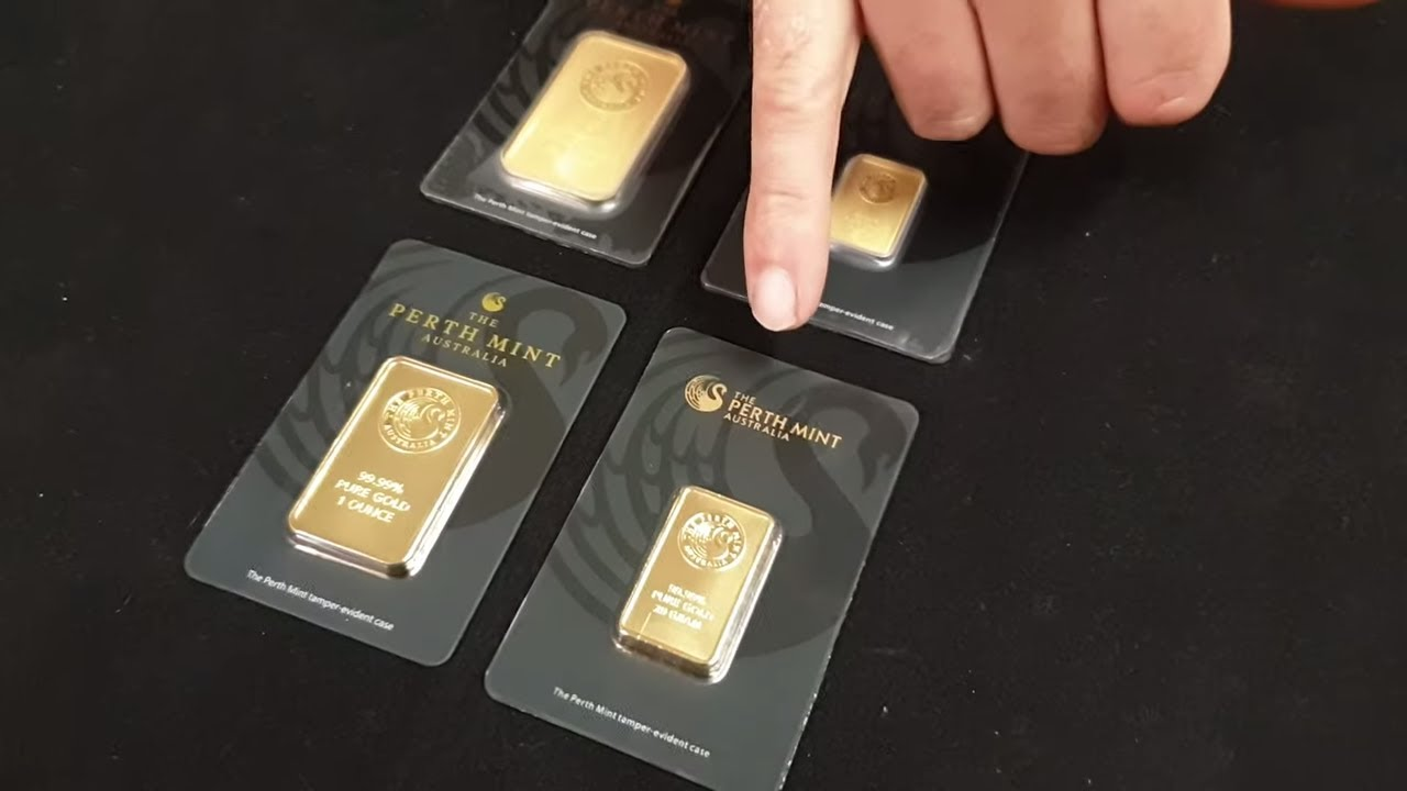 Fake Vs Real Perth Mint Gold Bars How