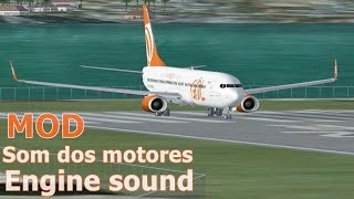 "FSX ✈ Decolagem Santos Dumont - Boeing 737-800 + Real Sound + Download ""TESTE"""