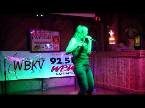 """Samantha Marshall """"Cheater Cheater"""" Joe & Rory Karaoke 6-1-12"""