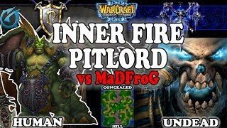 Grubby   Warcraft 3 TFT   1.30   HU v UD on Concealed Hill - Inner Fire PitLord