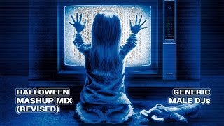 Halloween Party Music Mix - Mashups and Remixes Revised 2015