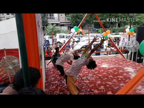 Vande matram Abcd2 movie song dance performance on Independence Day