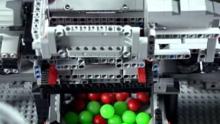 Lego Technic ● Mindstorms ● Ball sorting machine