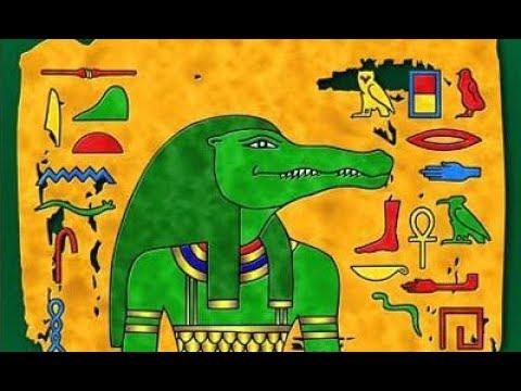Египетский крокодил в картинках