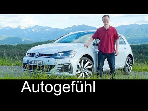 Volkswagen Golf GTE Plugin-Hybrid FULL REVIEW VW Facelfit new neu 2018 - Autogefühl