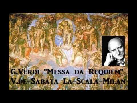 "G.Verdi ""Messa da 'Requiem"" [ V.de-Sabata La-Scala-Milan ] (1954)"