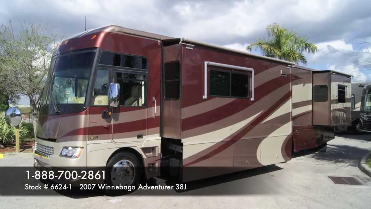Winnebago Adventurer 38J Class A Gas Motorhome