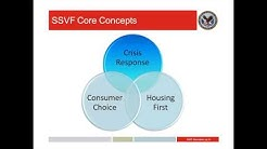 Supportive Services for Veteran Families SSVF Webinar