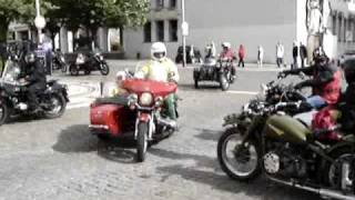 Motas Classicas side car Ural, Triumph. Coimbra Portugal motos Motorcycle Bike