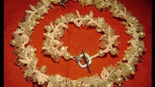 Оригинальные украшения из бисера. Бисероплетение.