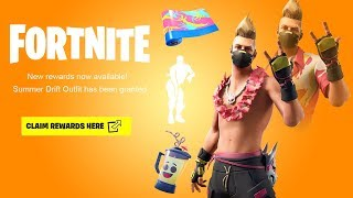 ALL *NEW* FREE REWARDS in Fortnite! (Free Skin Styles, SUMMER DRIFT, & More)