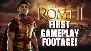 Rome Total War - ROME II - NEW Gameplay footage!