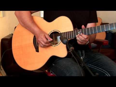 Faith Acoustic  FJCEHG Jupiter Cutaway,  Part3