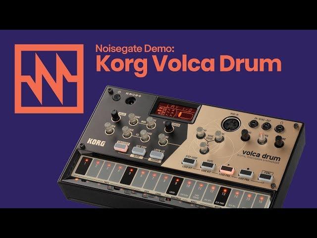 KORG Volca Drum: Performance Demo