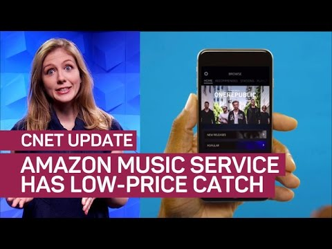Amazon expands into subscription music...and meat? (CNET Update)