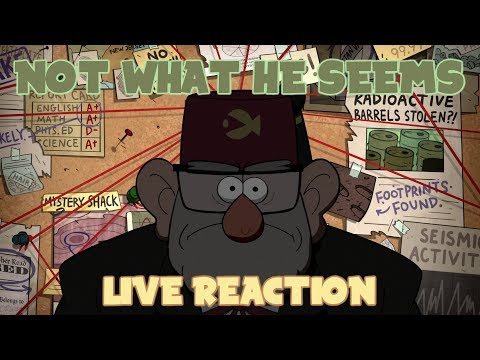 Gravity Falls S2E11 Not What He Seems Live Reaction
