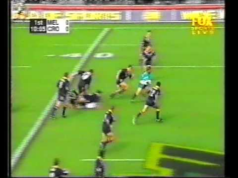 1999 Cronulla Sharks vs Melbourne Storm Russell Richardson try