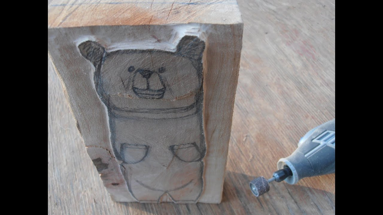How To Make A Wooden Bear Part 1
