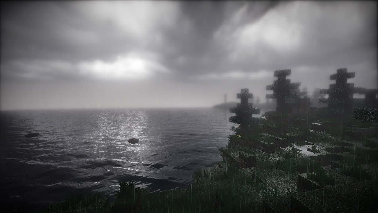 Minecraft Seus 60fps Cinematic Rainy Atmospheric Vfx