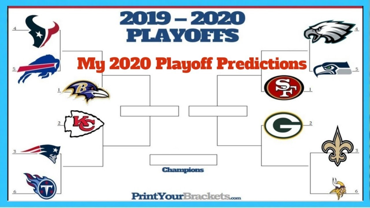 My 2020 NFL Playoff Predictions! - YouTube