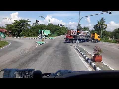 Trip Shah Alam to Tanah Merah. Perjalanan Kobelco 7150. Part 7.