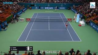 Hot Shot: Isner Proves Patience Is A Virtue In Stockholm 2018