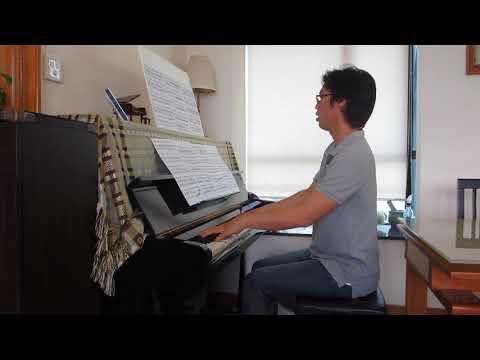 Beethoven: Violin Sonata No.1 - 3rd Movement - Piano Part [Slow Tempo]