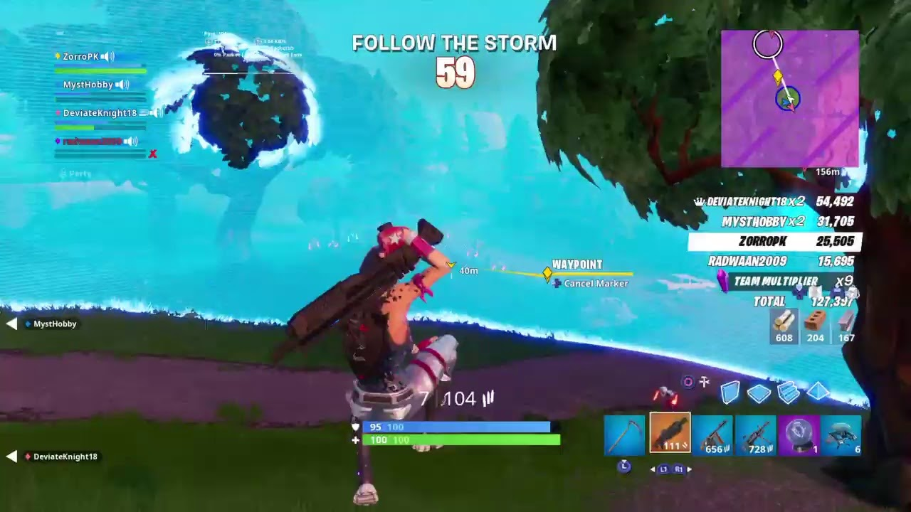 Open Lobby Fortnite Decent Console Player 200 Wins