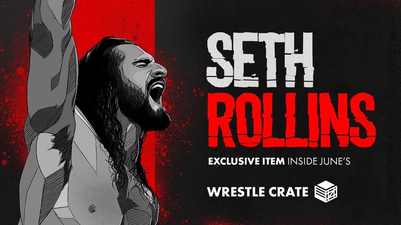 Seth Rollins dans la Wrestle Crate UK de Juin 2020! (Unboxing)