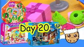 Polly Pocket, Playmobil Holiday Christmas Advent Calendar Day 20 Toy Surprise Opening Video