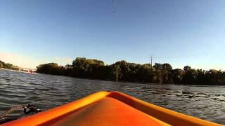 Sunset Yak Trip Fox River 9 25 14