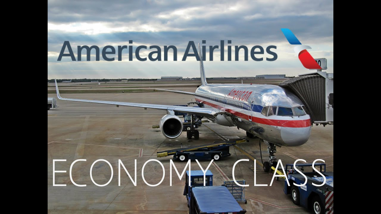 American Airlines Economy Class Dallas Ft Worth To San