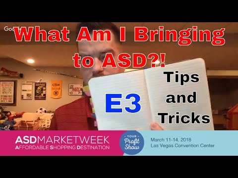 E3: What Will I Bring to the ASD Show in Vegas and My Thrift Haul