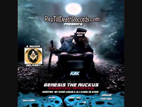 Kill 4 Rap Rick Ross,Caspian Slang, Belly Diss By KRK aka Genesis The Ruckus Vampire Hunter