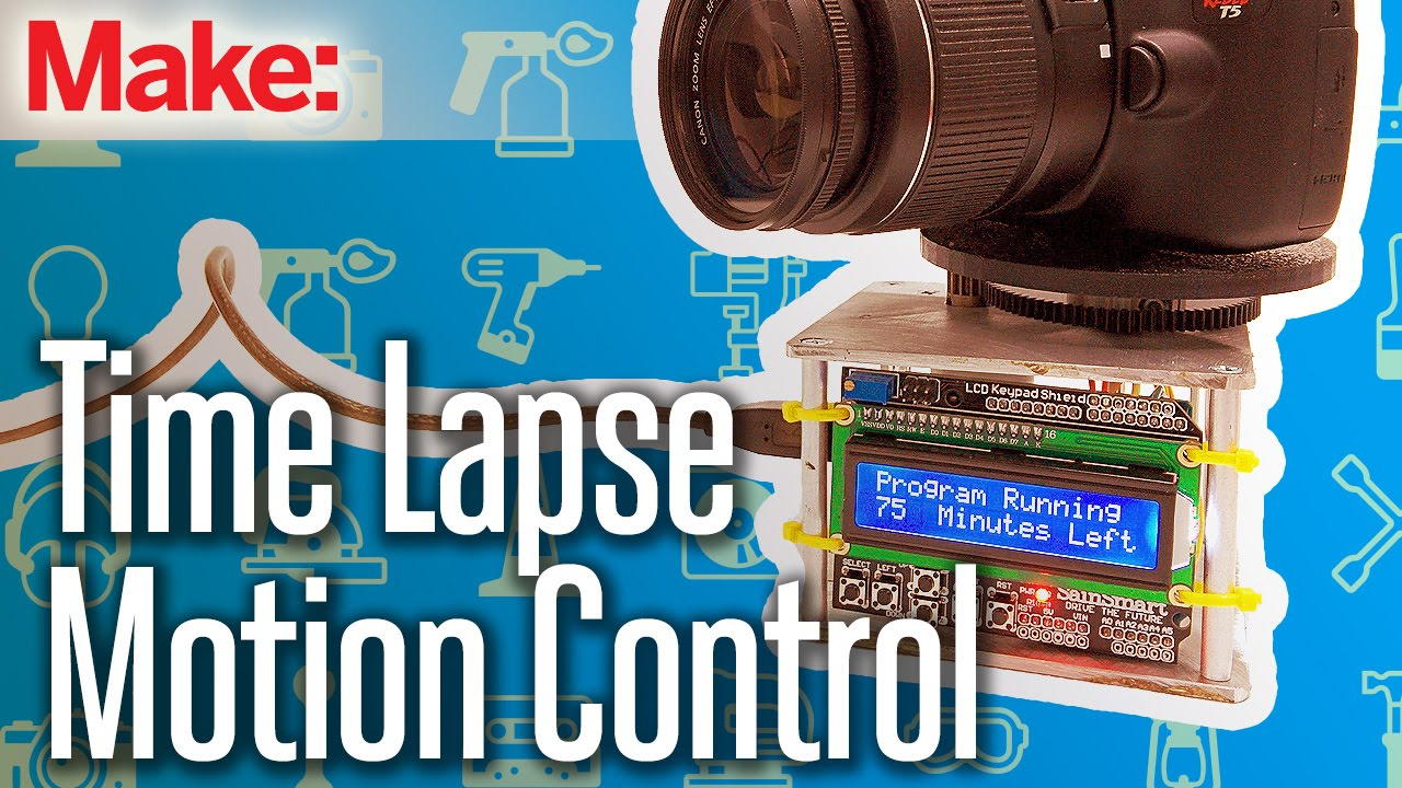 weekend project time lapse motion control