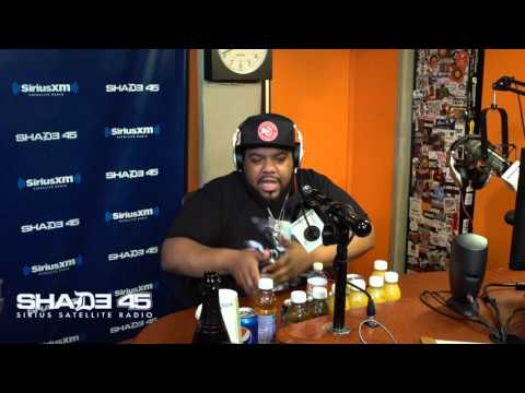Charlie Clips Freestyles Live on Shade 45 with DJ Kayslay