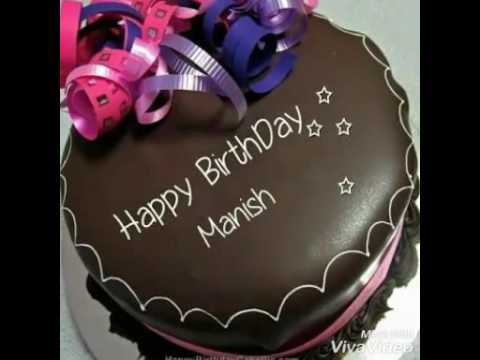 Happy Birthday Cake Manish